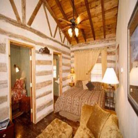 Boerne, Τέξας: Log Cabin Room