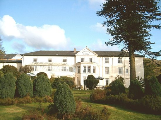The royal victoria hotel snowdonia llanberis pays de for Salle a manger wales