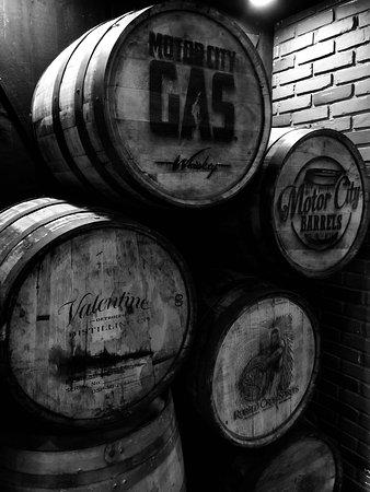 Ferndale, MI: Booze Barrels
