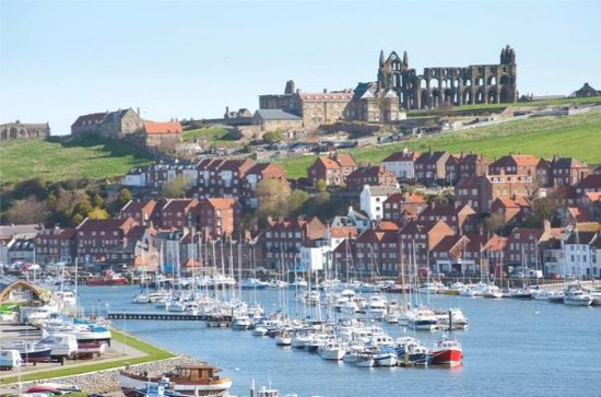 North York Moors and Whitby from...