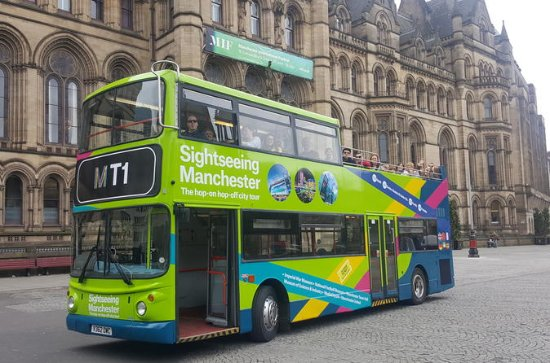 Tour di Manchester in Bus Hop-On