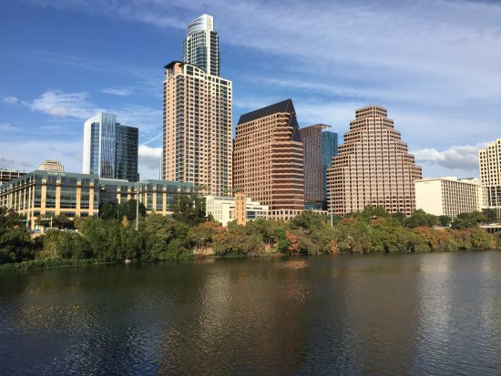 Omni Austin Hotel Downtown: Vista linda da cidade