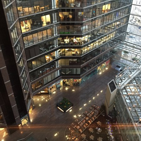 Omni Austin Hotel Downtown: Vista do elevador panorâmico