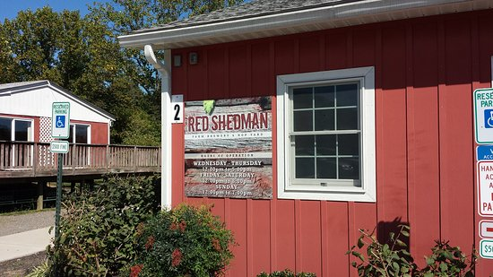 Mount Airy, MD: Red She'd man Farm Brewery!