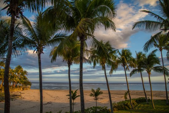 Outrigger Fiji Beach Resort: View from Deluxe Ocean View room