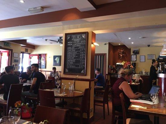 Zafferelli: Restaurant