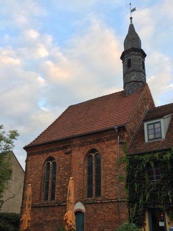 Neuruppin, Almanya: Church/ reception