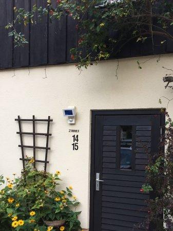 Neuruppin, Almanya: Door to rooms 14/15