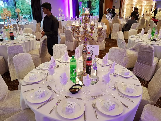 Great Wedding Setup By Dawat Southall Catering. Thank you Team Dawat.