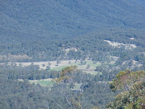 Way down there is the Megalong Valley Tea Rooms