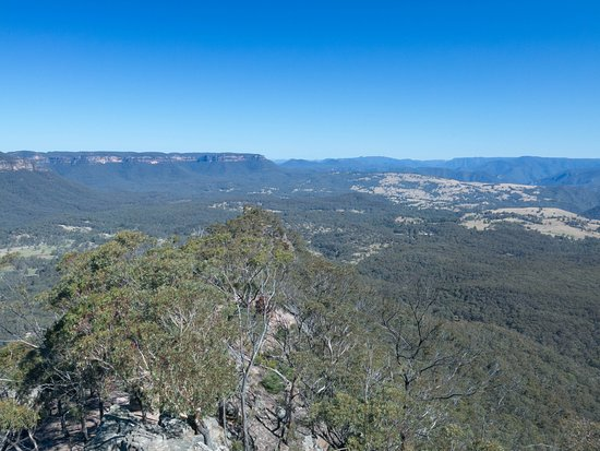 Megalong Valley, Australia: On a clear day you can see forever