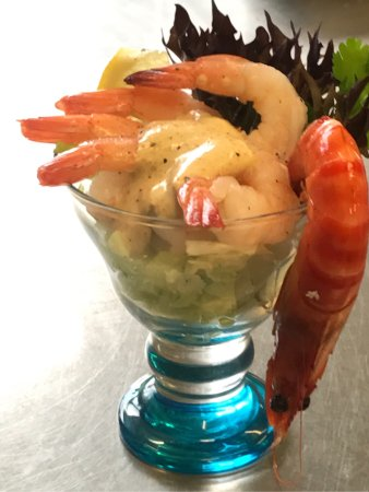 Bicheno, Australia: Salty Splash Prawn Cocktail