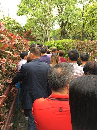 Shaoshan, China: line up