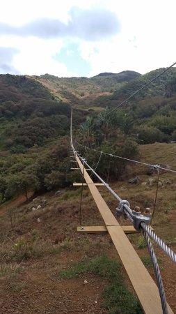 Chemin Grenier: Nepalese bridge