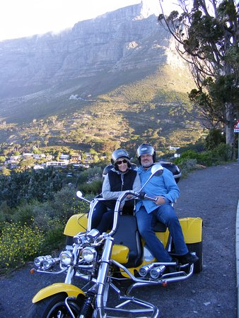 Carol And Doug From Kentucky Usa Picture Of Cape Town Trike Tours Cape Town Central