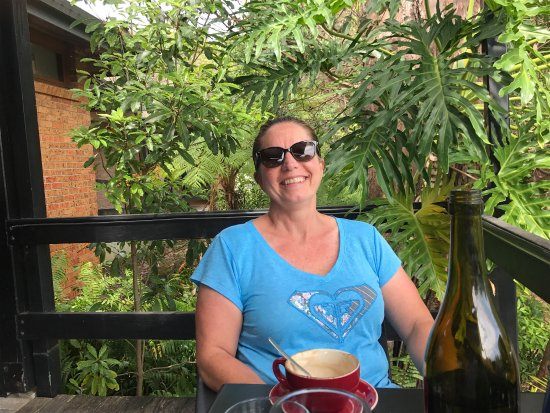 South West Rocks, Australia: We had a great here lunch today so relaxing the food and coffees were great Only downside is the