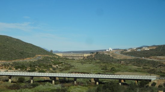 Ceres, South Africa: Clanwilliam dam wall