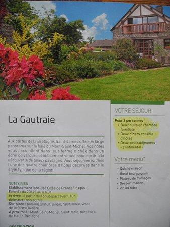 Saint James, Frankrike: Fiche Wonderbox 3 jours gourmands en amoureux