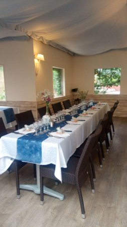 Valbonne, Frankrijk: Intérieur restaurant