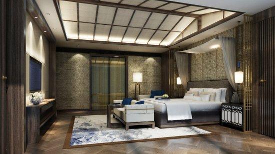Hilton Huizhou Longmen Resort لوحة