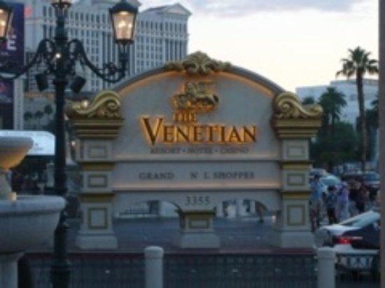 The Palazzo Resort Hotel Casino: Entrata del Venetian