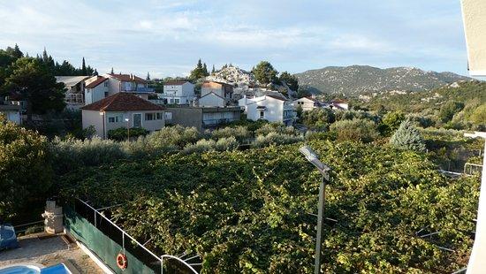 Ploce, Κροατία: Blick vom Balkon