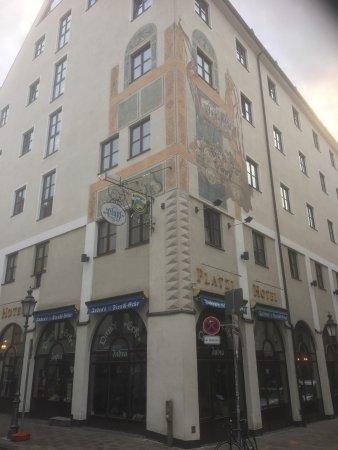 Platzl Hotel: Vårt opphold her.