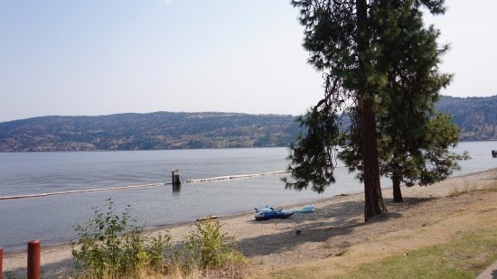 West Kelowna, Canada: Okanagan lake.