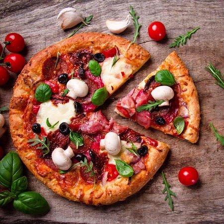 Gravina di Catania, Italien: Pizza a lunga lievitazione