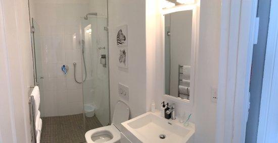 Blackheath Lodge: en suite shower room