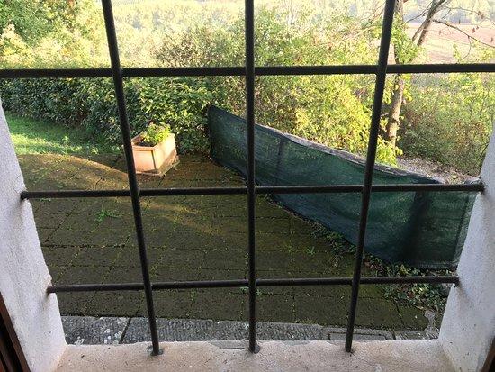 Il Paggino: View on the veranda
