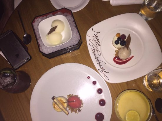 Anniversary pudding