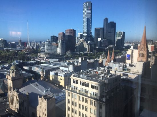 Grand Hyatt Melbourne: View from the suite