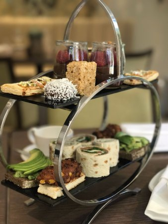 Careys Manor Hotel Senspa Vegan Friendly Menus Such As Afternoon Tea