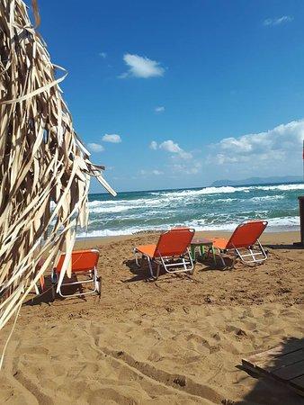 إليفثيريا هوتل: Plaża w Agia Marina