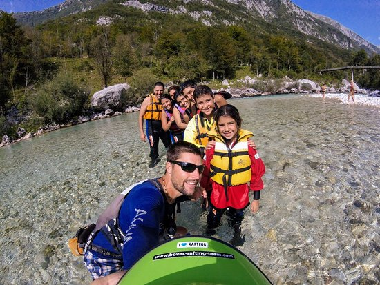 Bovec, Σλοβενία: Happy faces are our biggest reward  :)