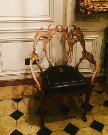 Musee De La Chasse Et De La Nature: Antler Chair