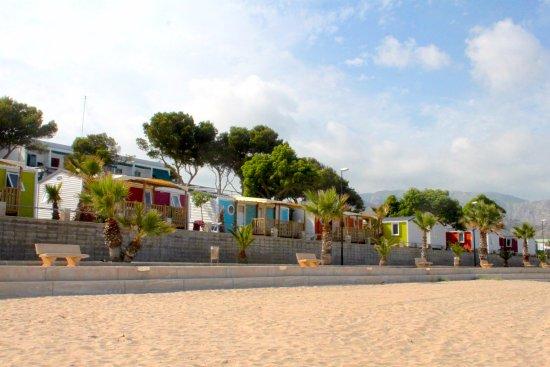 Mobil-homes 1ª línea de playa