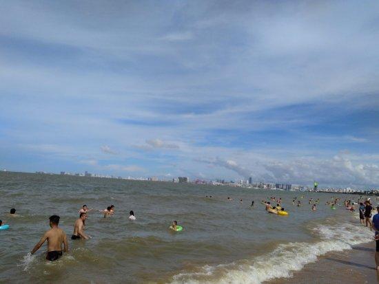 Haikou, China: 假日海灘