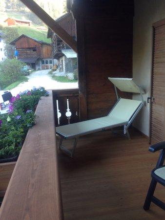 La Valle, Italy: Balcone suite primo piano