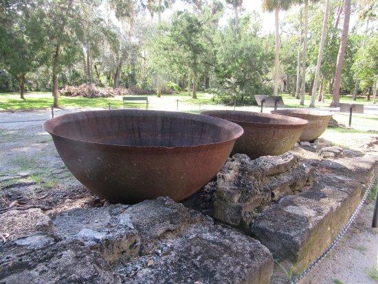 Sugar Mill Ruins : sugar pots/ huge