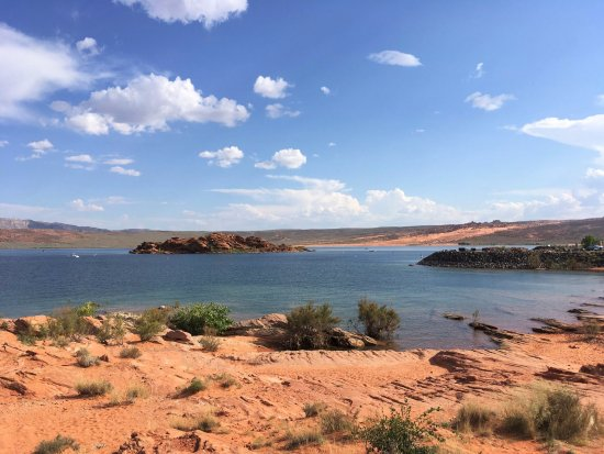 Hurricane, UT: Small view of the reservoir