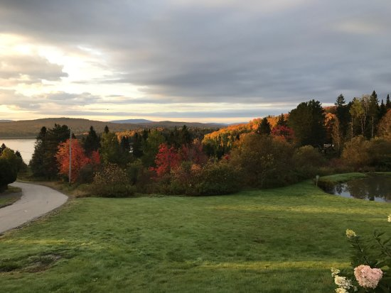 Pittsburg, NH: View from the main office
