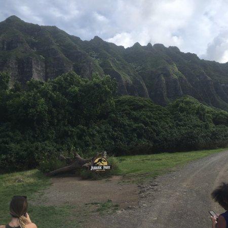 Kaneohe, HI: Film spot of Jurassic Park.