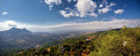 Gaucin, Ισπανία: Blick vom Castillo