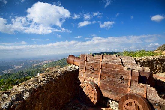 Gaucin, Spanje: Blick vom Castillo