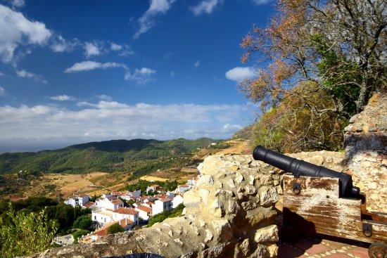 Blick vom Castillo aug Gaucin