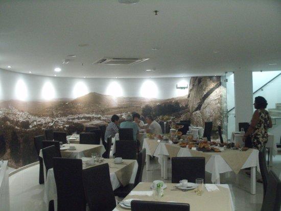 Portalegre, Portugal: Ambiente do refeitório do hotel