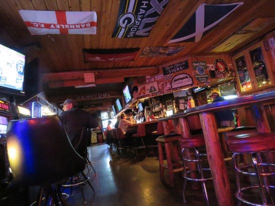 Great Northern Brewing Company: Fun decor