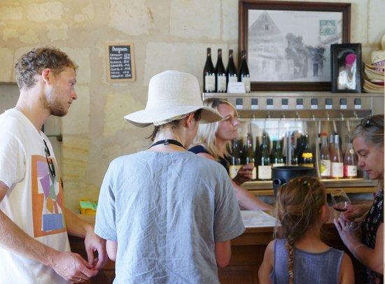 Dégustation à la Maison des Vins de Bourgueil